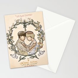 """Illustration from the video of the song by Wilder Adkins, """"When I'm Married"""" Stationery Cards"""