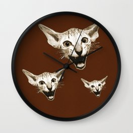 The Laughing Cat Wall Clock