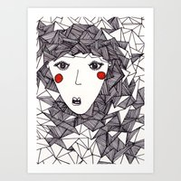 the who Art Prints featuring who by Eliza L