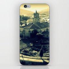 Panorama of Arnedillo iPhone & iPod Skin