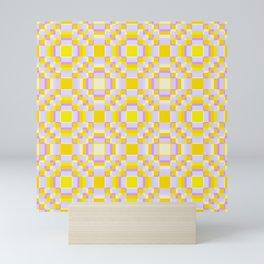 Bright Native Pattern Simurgh Mini Art Print