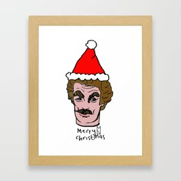 Merry Christmas Tom you Framed Art Print