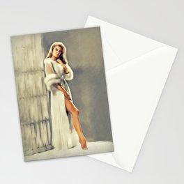 Elizabeth Montgomery, Vintage Actress Stationery Cards