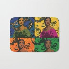 Maria Callas quartet Bath Mat