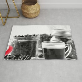 #Fine #Coffee and #coffeebeans for #homedecors Rug