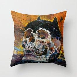 Bat Relics Throw Pillow