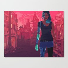 The New Machine Age Canvas Print