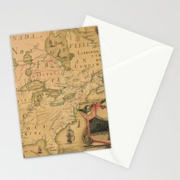 Northenmost America 1688 Stationery Cards