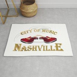 Nashville. City of music Rug