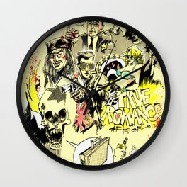 90's action movie Wall Clock