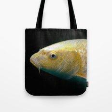 A lucky golden colored carp/Nishikigoi(Japanese Colored Carp) Tote Bag