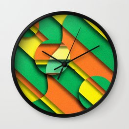 CIRLCES COME IN THREES Wall Clock