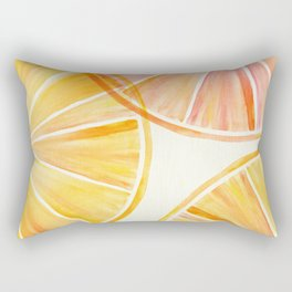 Sunny Citrus Rectangular Pillow