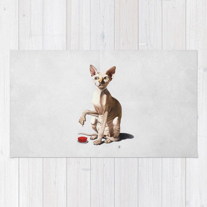 Cat-astrophe (Wordless) Rug