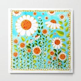 Flower#5 - Wild Daisies Metal Print