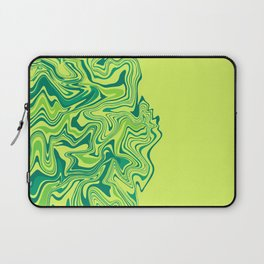 Green Lime Agate Laptop Sleeve
