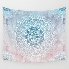 VINTAGE SPRING LACE MANDALA Wall Tapestry