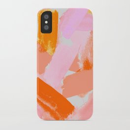 A Vision in Blush iPhone Case