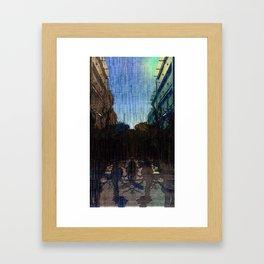 Saturday 26 January 2013: symmetrical compensation, symbiotic compression Framed Art Print