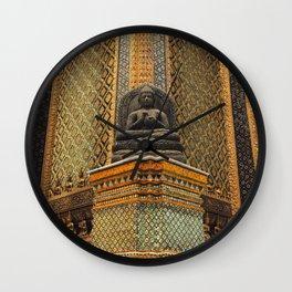 Buddha - Bangkok - Thailand Wall Clock