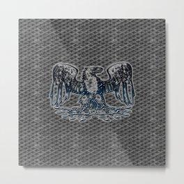 iron eagle Metal Print
