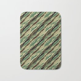 Abstract camouflage pattern. 2 Bath Mat