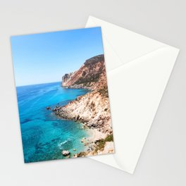 208. Perfect Beach, Greece Stationery Cards