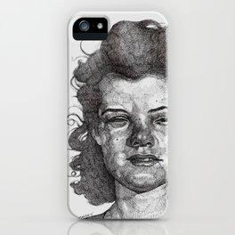 Roxy Renegade Queen of the Roller Derby iPhone Case
