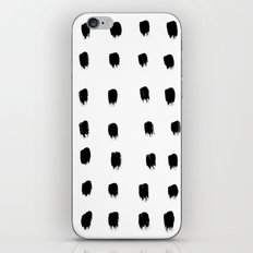 Jacques Pattern - Pure White iPhone & iPod Skin