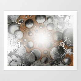 Planetoid Party Art Print