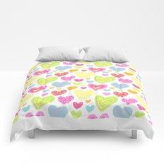 spring hearts Comforters