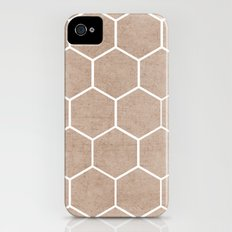 natural hexagon Slim Case iPhone (4, 4s)