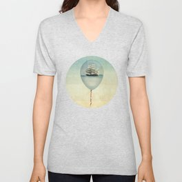 All at Sea Unisex V-Neck