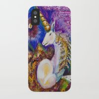 unicorn iPhone & iPod Cases featuring Unicorn by CrismanArt