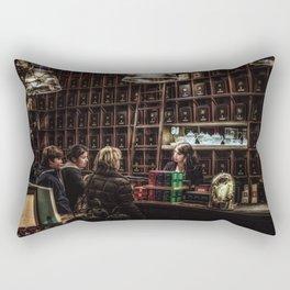 The Tea Shop Rectangular Pillow