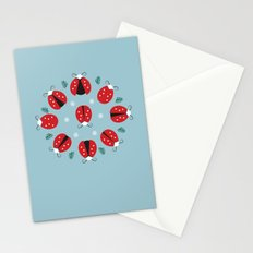 Nine Ladies Dancing Stationery Cards