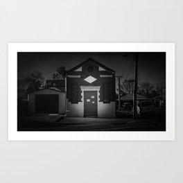 The Christchurch Electricity Substation Project XXVII Art Print