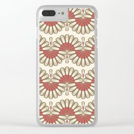 Art Deco 53 . Eastern . Clear iPhone Case