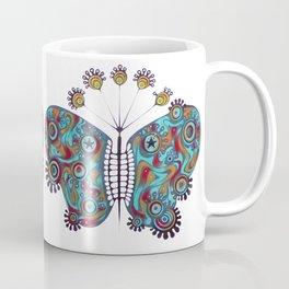 constellation butterfly (ORIGINAL SOLD). Coffee Mug
