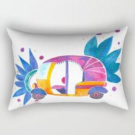 Groovy Rickshaw Rectangular Pillow
