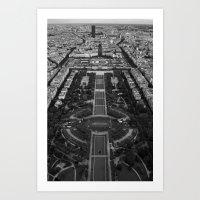 Paris 2009 Art Print