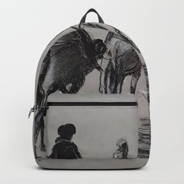 camel row Backpack