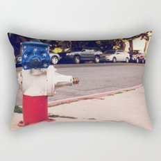 Hydrant National ∫ Living Los Angeles Rectangular Pillow