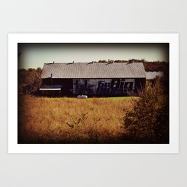Kentucky... GO BIG BLUE! Art Print