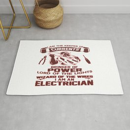 I AM AN ELECTRICIAN Rug