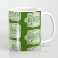 I Still Shoot Film Holga Logo - Reversed Green Mug