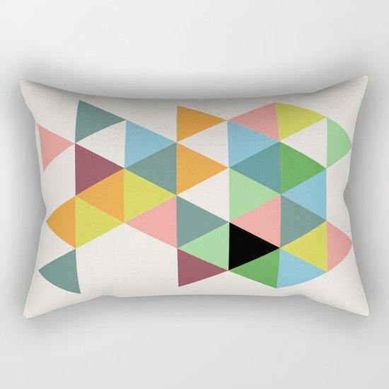Abstract #579 Rectangular Pillow