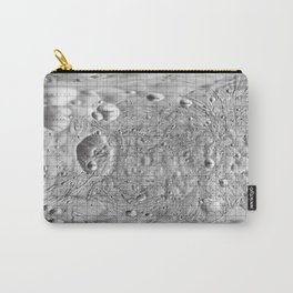 Map of Phobos, Moon of Mars Carry-All Pouch