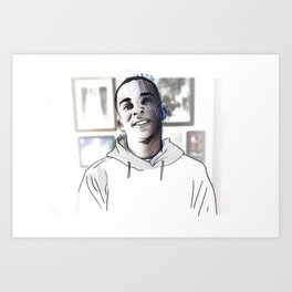 Stephon Clark • Forever Young Art Print