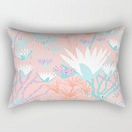 Lotus + Papyrus Garden Rectangular Pillow